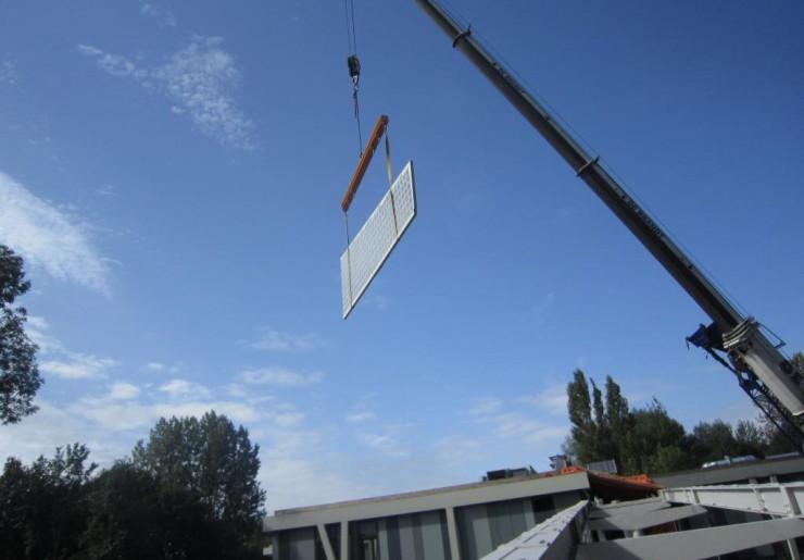 Projet : Passerelle à Lokeren