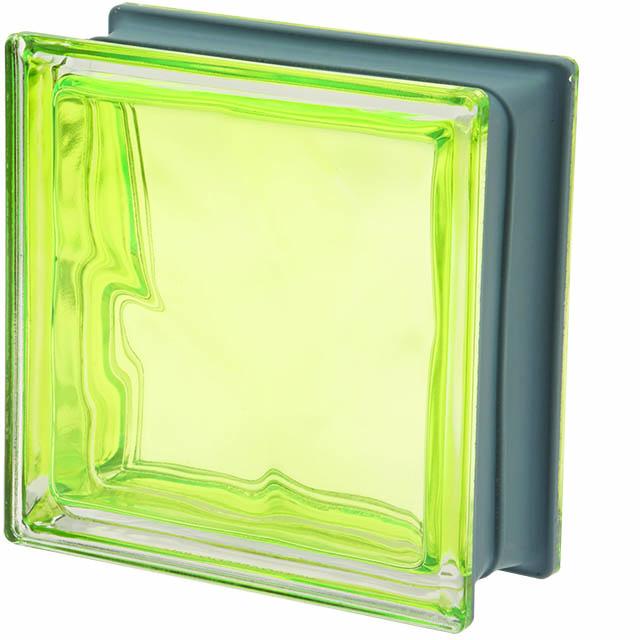 Glastegel Kiwi – geel/groen