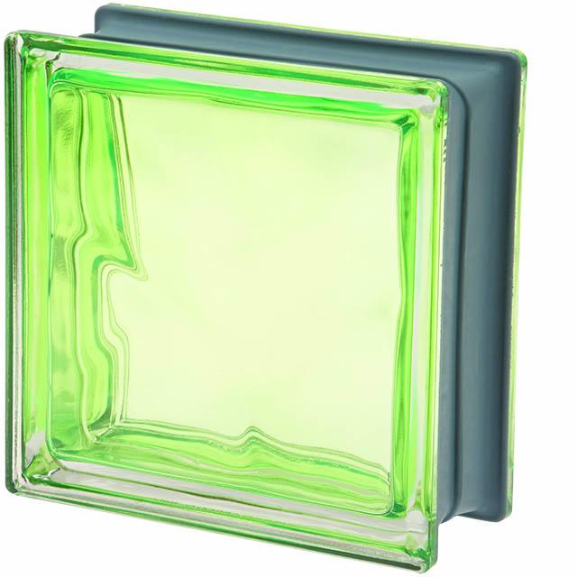 Glasblok Muschio – lichtgroen