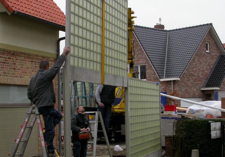 Projet : Séparation extérieure – habitation privée